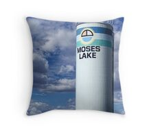 Water Tower (Moses Lake, Washington, USA) Throw Pillow