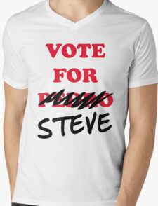 VOTE FOR STEVE Mens V-Neck T-Shirt