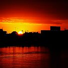 aussie sunset by SimPhotography