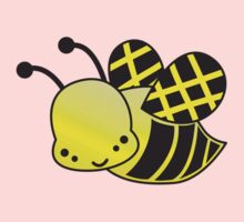 Cute Honey bee One Piece - Long Sleeve