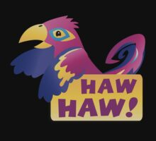 HAW HAW cute tropical parrot Kids Clothes