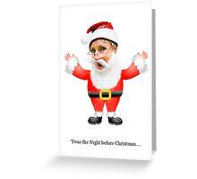 Santa Su Greeting Card