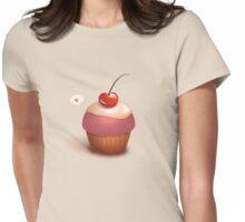 Love, Cherry - Cupcake Tee Womens Fitted T-Shirt