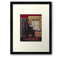 Literary Retreat Framed Print