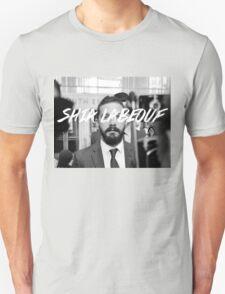 Shia Labeouf Black and White Unisex T-Shirt