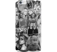Olsen Twins Collage iPhone Case/Skin