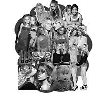 Olsen Twins Collage Photographic Print