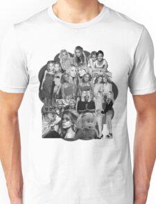 Olsen Twins Collage Unisex T-Shirt