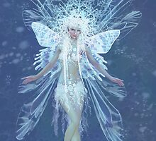 Snowflake fairy queen by Tanya Varga (formerly Tanya Wheeler)