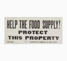 United States Department of Agriculture Poster 0202 Help the Food Supply Protect This Property Kids Tee