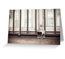 Jack Daniels in France Greeting Card