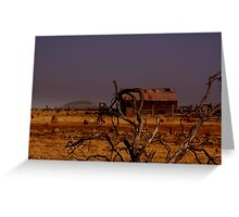 out,outback Greeting Card