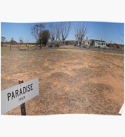Outback Australia - Paradise Track Poster