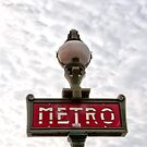 Metro sign Paris by robboxxx