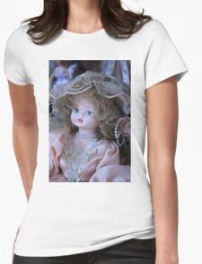 old doll Womens Fitted T-Shirt