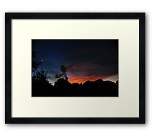 Philippine Sunset Framed Print