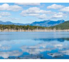 Lake Moogerah in Queensland during the day Sticker