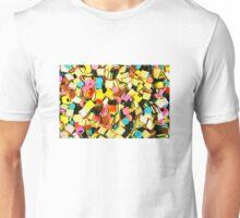 Colorful candies  Unisex T-Shirt