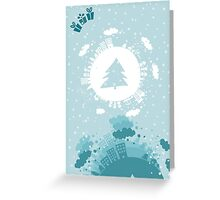 merry xmas 5 Greeting Card