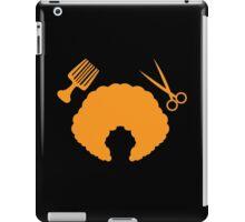 AFRO Hairdresser stylist iPad Case/Skin