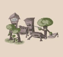 Zombtrees Attack by Griffin Ess