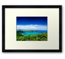 Post Card from Hawaii  Framed Print