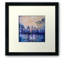Violet Landscape Framed Print