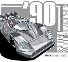 MERCEDES BENZ - C11 GROUP C1 by Evan DeCiren
