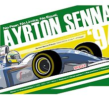 Ayrton Senna - F1 1994 Tribute by Evan DeCiren