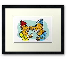 Nice To Meet You Spud! Framed Print