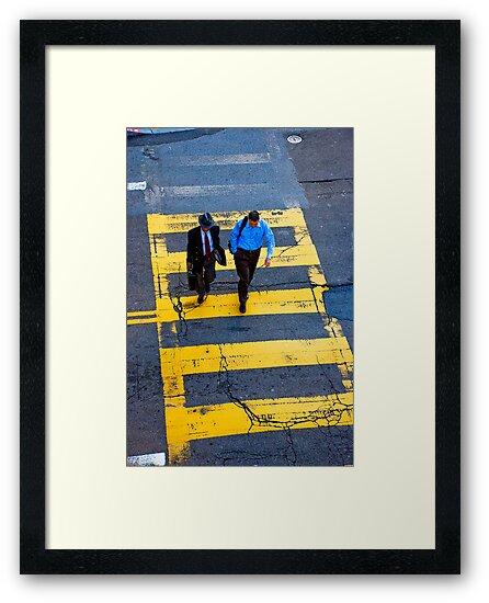 San Francisco crosswalk by kieranmurphy