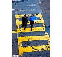 San Francisco crosswalk Photographic Print