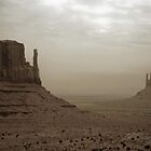 Monument Valley, Utah - Dust Storm by kieranmurphy