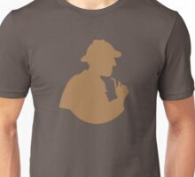 Sherlock holmes with a smoking pipe Unisex T-Shirt