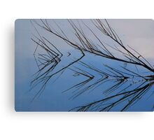 Branch Reflection Canvas Print