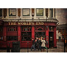 The World's End Photographic Print