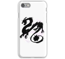 Chinese Dragon Silhouette iPhone Case/Skin