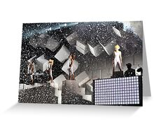 The Pet Shop Boys Greeting Card