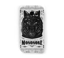 Princess Mononoke Black Wolf Samsung Case Samsung Galaxy Case/Skin