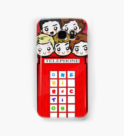 Red Telephone Box Samsung Case Samsung Galaxy Case/Skin