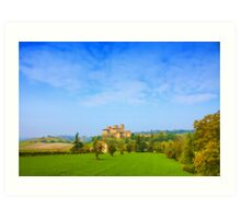 The Italian Castle Art Print