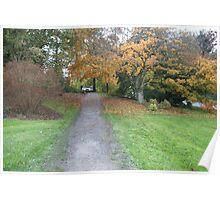 Washington Park Arboretum, Seattle, Washington Poster