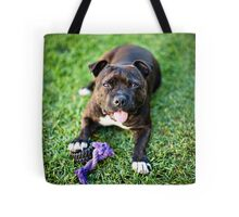 Molly the Staffordshire Bull Terrier Tote Bag