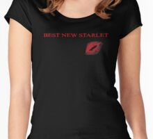 Best new starlet Women's Fitted Scoop T-Shirt