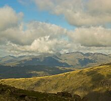 The High Fells Of Cumbria by VoluntaryRanger