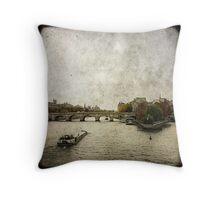 Le Pont Neuf Throw Pillow