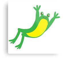 leaping frog Metal Print