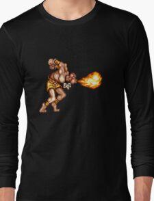 Yoga Flame Long Sleeve T-Shirt