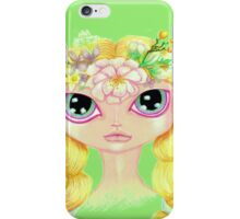 Pretty Spring Girl iPhone Case/Skin