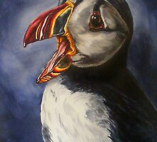 puffin portraite 2 by dnlddean